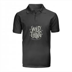 "Поло с принтом ""Wild thing"""