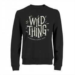 "Свитшот с принтом ""Wild thing"""
