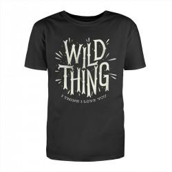 """Футболка с принтом """"Wild thing"""""""