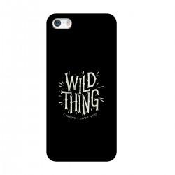 "Чехол для Apple iPhone с принтом ""Wild thing"""