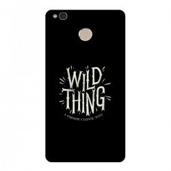"""Чехол для Xiaomi с принтом """"Wild thing"""""""
