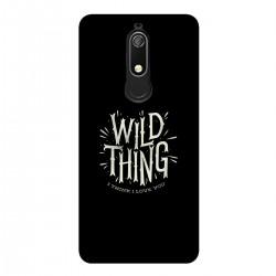 """Чехол для Nokia с принтом """"Wild thing"""""""
