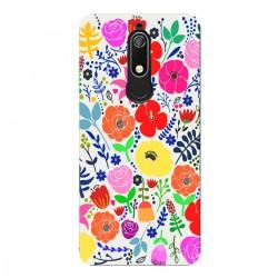 """Чехол для Nokia с принтом """"Полевые цветы"""""""