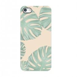"""Чехол для Apple iPhone с принтом """"Нежные зеленые листья"""""""