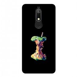"""Чехол для Nokia с принтом """"Геометрическое яблоко"""""""