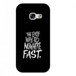 "Чехол для Samsung с принтом ""The easy way to nowhere FAST"""