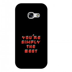 "Чехол для Samsung с принтом ""You are simply the best"""