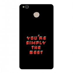 "Чехол для Xiaomi с принтом ""You are simply the best"""