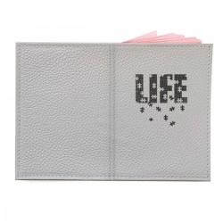"""Обложка на паспорт с принтом """"Пазл Life"""""""