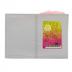 "Обложка на паспорт с принтом ""Borg3000"""