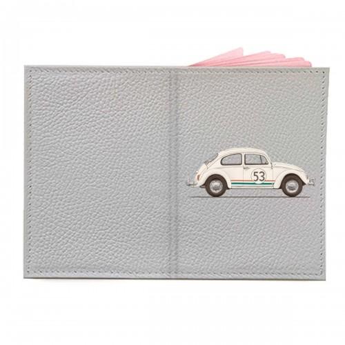 "Обложка на паспорт с принтом ""Herby the Love bug"""